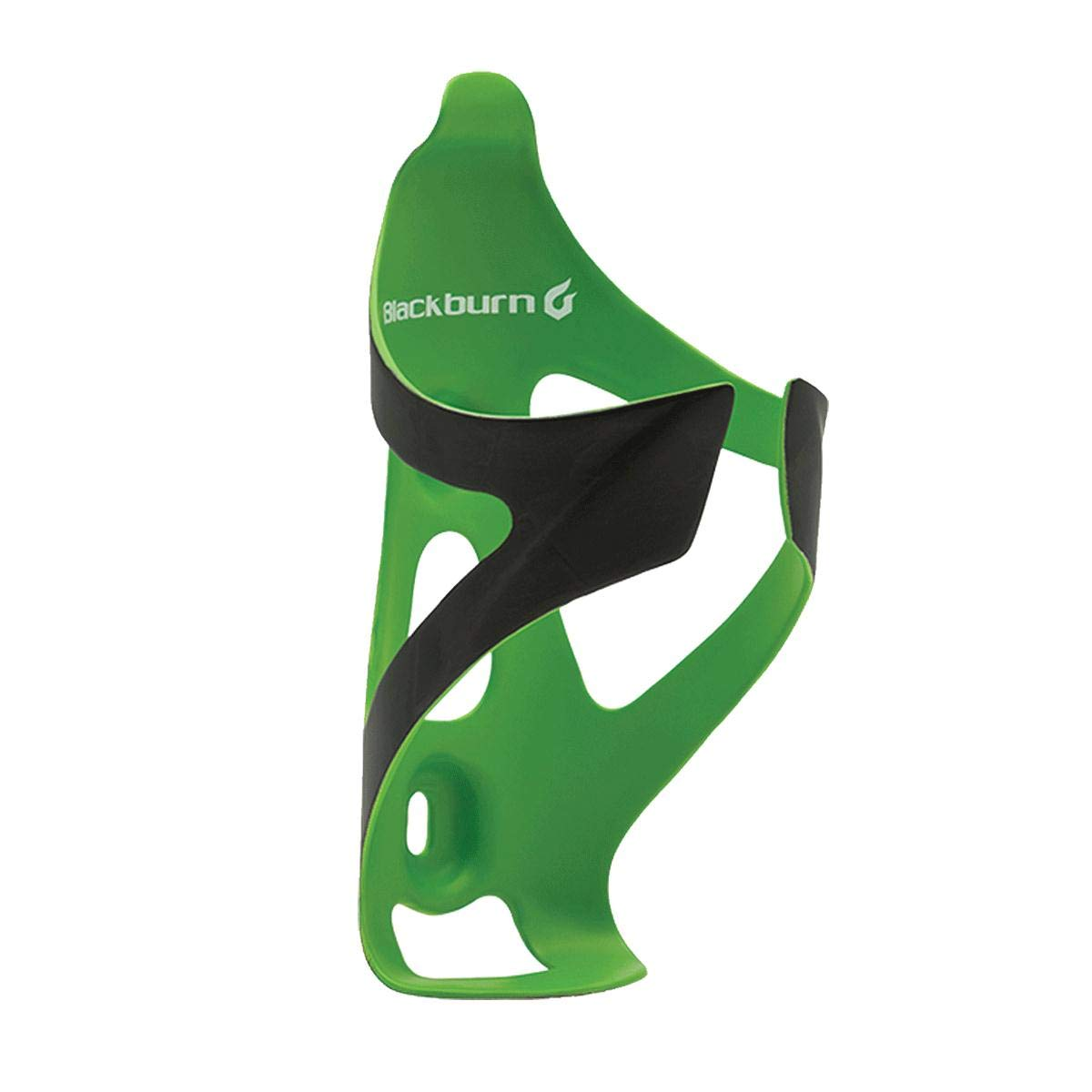 Blackburn Camber UD Carbon Cage Matte Black/Green, One Size