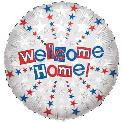 18 Inch Welcome Home Balloon