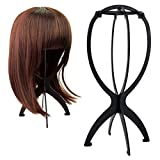 Alotpower Wig Holder Collapsible Wig Stand Portable Wig Stand Wig Dryer