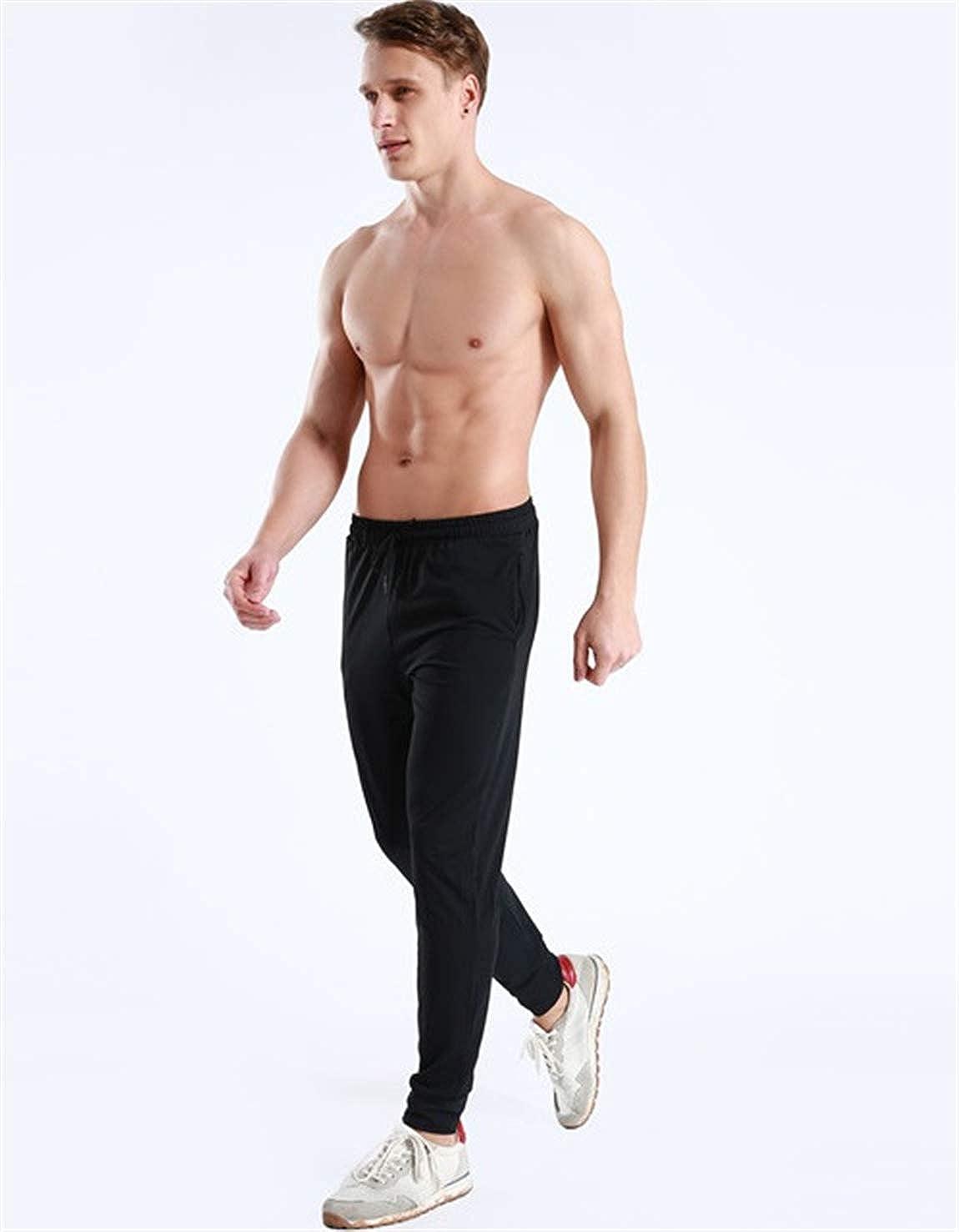 Cooden Pantaloni Sportivi con Tasche Uomo Palestra Lungo Ad Asciugatura Rapida per La Palestra Allenamento e Sport Tennis Corsa