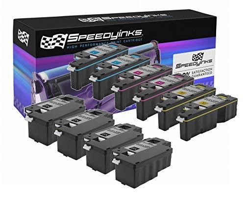 (Speedy Inks Toner Cartridge Replacement for Xerox Phaser 6010 & WorkCentre 6015 (4 Black, 2 Cyan, 2 Magenta, 2 Yellow,)