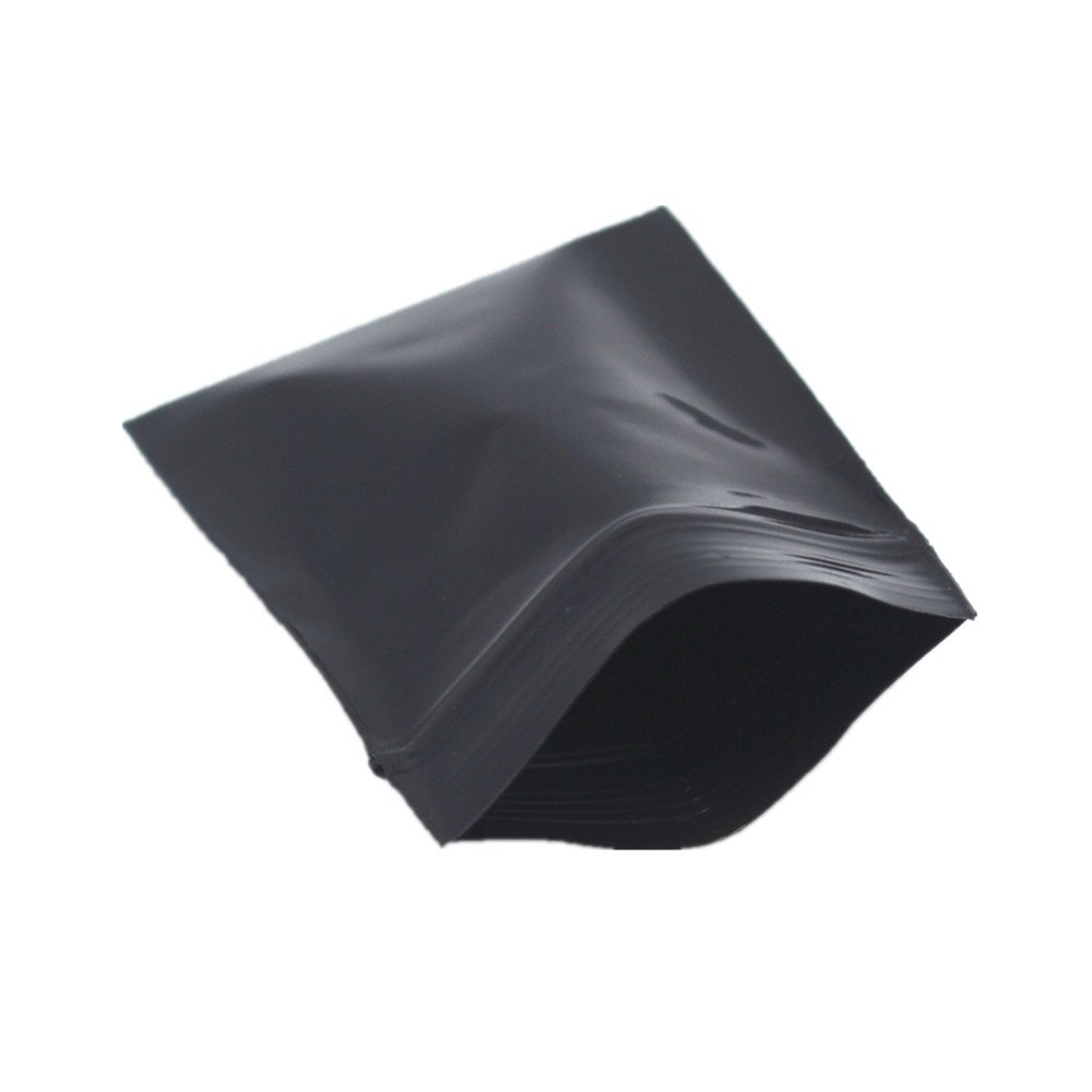 Premium Zip Lock Storage Package Bag Black Opaque Lucifugal Pouch Self Sealing Resealable Retail Packing Bags 5000 Pieces 5*7cm (1.96''x2.75'')