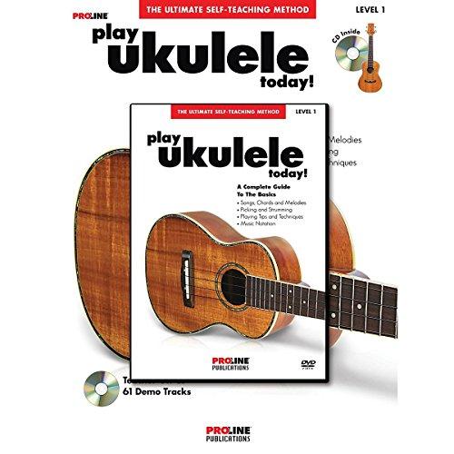ProLine ProLine Play Ukulele Today! Method (Book/CD/DVD) (Play Ukulele Today)