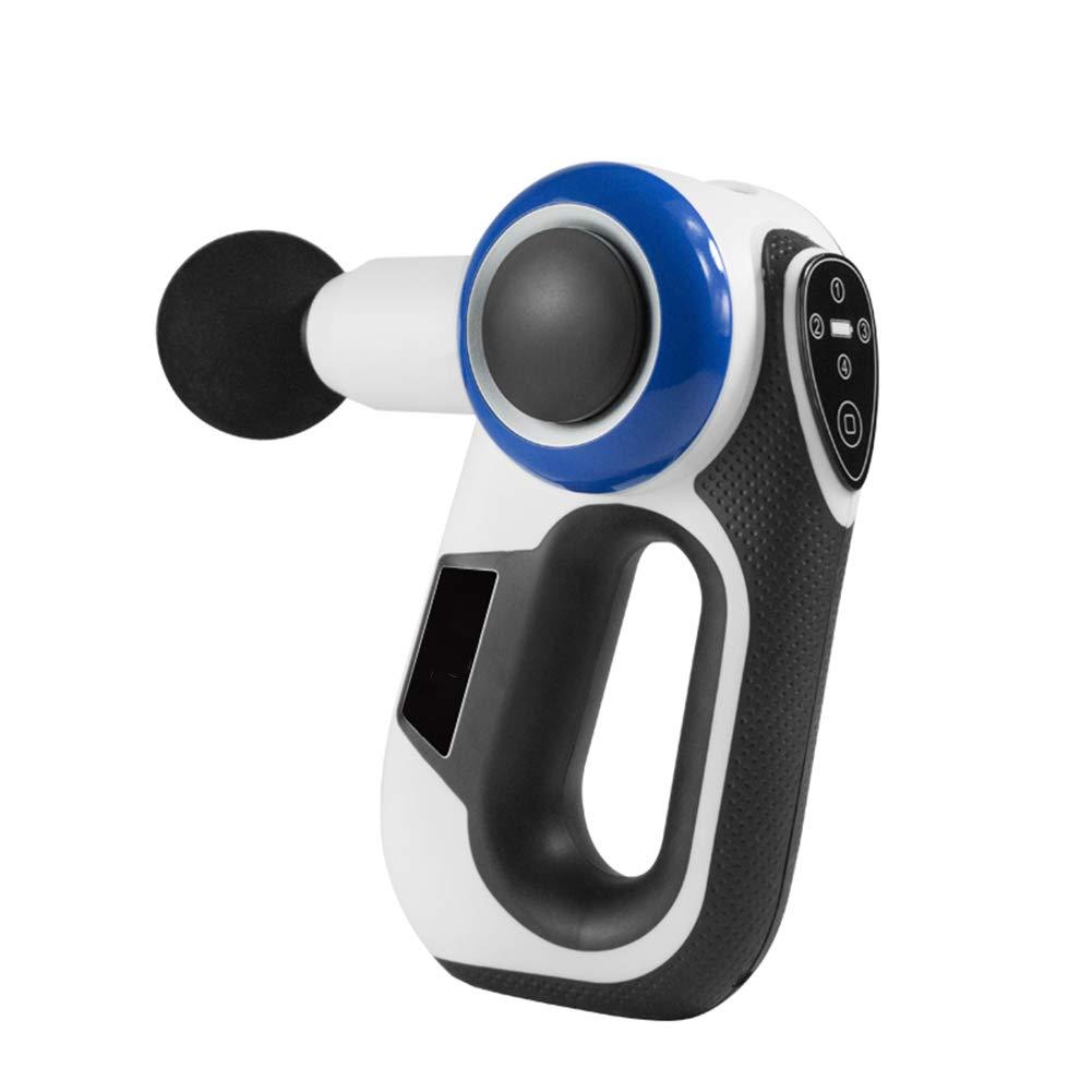 携帯用マッサージ銃の専門の深いティッシュのマッサージャーの最も静かな装置回転式マッサージの腕4の頭部およびタッチ画面 B07SDGB1VY