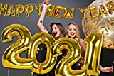 2021 New Years Eve Party Supplies Gold Happy New