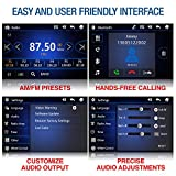 EINCAR Audio Car DVD Player - Double Din, Bluetooth