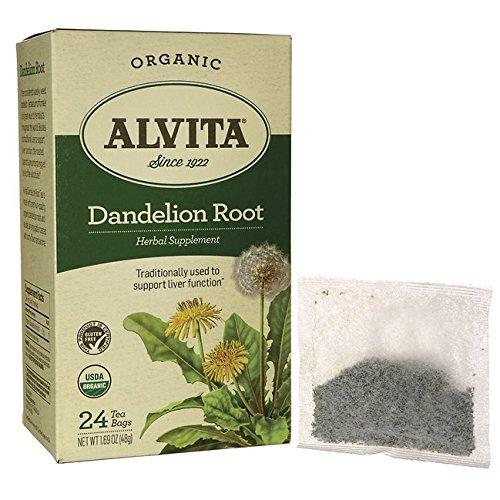 organic dandelion root tea - 5
