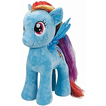 06659ff619c My Little Pony Rainbow Dash TY Extra Large Beanie  Amazon.co.uk  Toys    Games