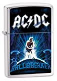 Zippo ACDC Ballbreaker Brushed Chrome Lighter