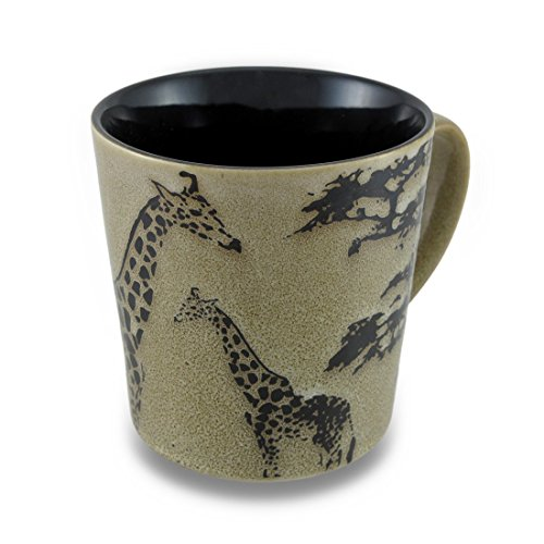 Unison Gifts TCD-441 Double Giraffe Mug, 16 oz