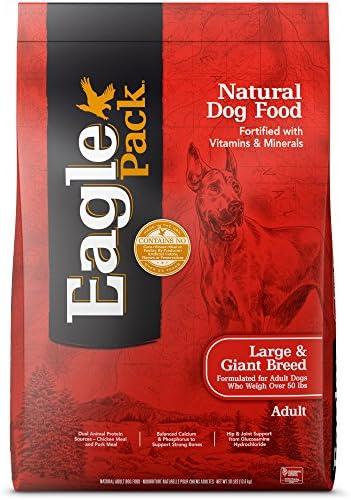 Eagle Pack Natural Dry Dog Food Large Breed Dog Food Chicken Pork