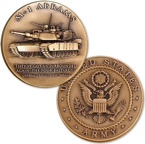 Northwest Territorial Mint M-1 Abrams Main Battle Tank - Army Coin ()