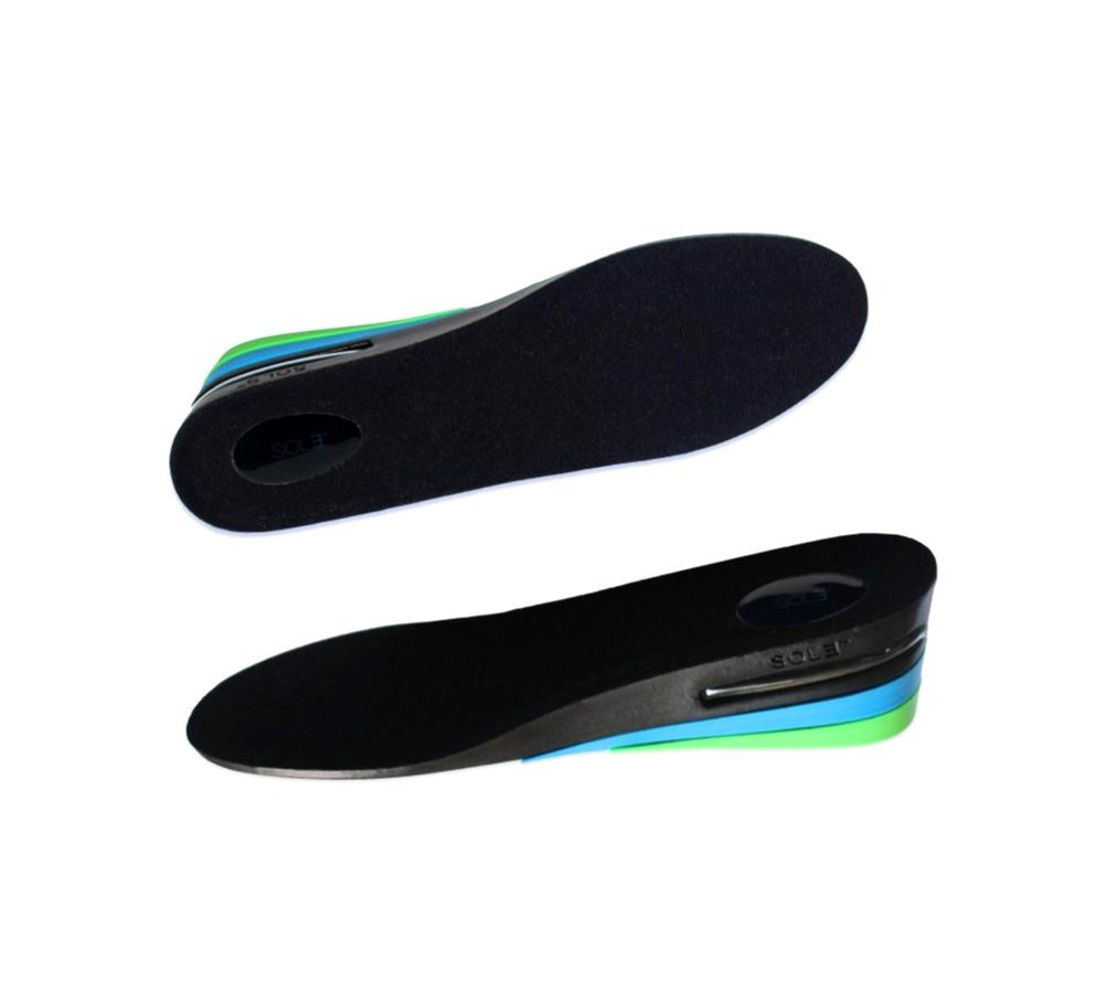 SOL3 - Men's Premium Height-Increase Insole Shoe Lift Inserts (7.5-11.5) by SOL3