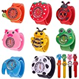 Eachbid Smart applied Cute Cartoon Children Kid Quartz Sports Bendable Rubber Strap Wrist Watch