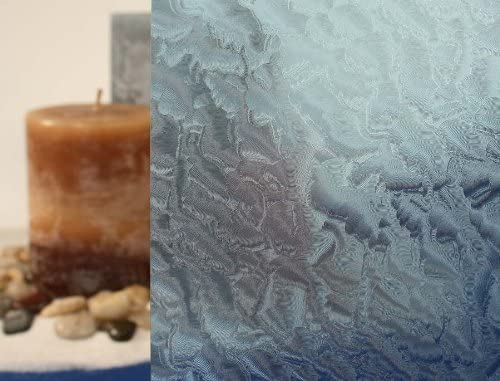 bofeifs non adhesive window film cobblestone no glue 3d.htm amazon com clear rippled glass  blue static cling window film  blue static cling window film