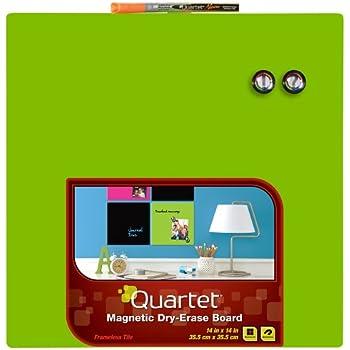 """Amazon.com : Quartet Whiteboard Tile, 14"""" x 14"""" Dry Erase"""