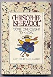 People One Ought to Know, Christopher Isherwood, 0385175361