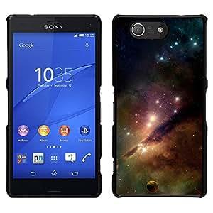 Stuss Case / Funda Carcasa protectora - Luxury Of The Stars - Sony Xperia Z3 Compact