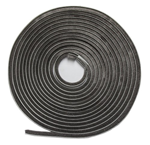 wj-dennis-company-417pl-self-adhesive-pile-weatherstrip-1-4-inch-x-3-16-inch-x-17-foot-grey