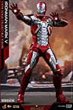 hot toys iron man mark 5 - Hot Toys Marvel Iron Man 2 Iron Man Mark V Diecast 1/6 Scale 12