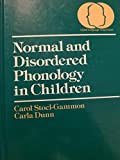 Normal and Disordered Phonology in Children 9780890791509