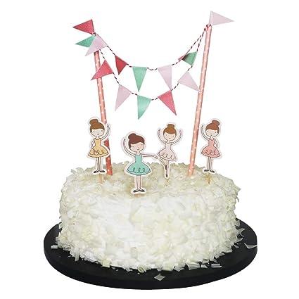 Sunny ZX - Adorno para tarta de bailarina para regalos de ...