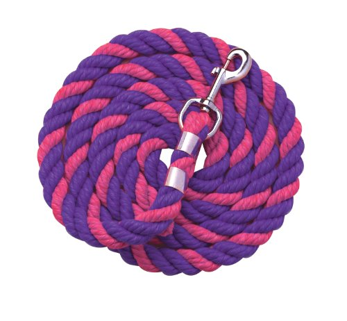 (Perri's Neon Colored Lead, Pink/Purple, 6-Feet)