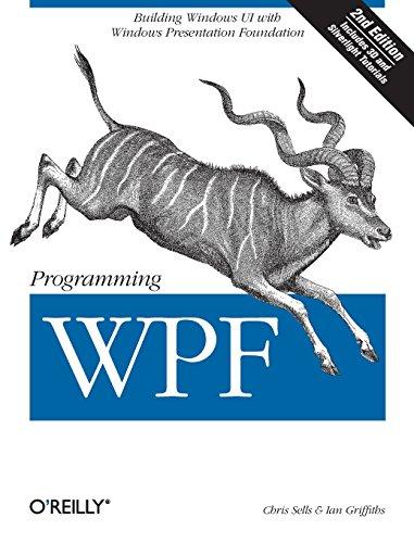 Programming WPF (Best Wpf Mvvm Framework)