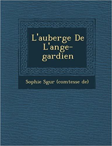 Book L'Auberge de L'Ange-Gardien (French Edition)