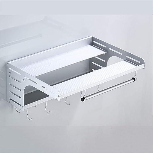 Estante De Aluminio para Microondas Montado En La Pared, Estante ...