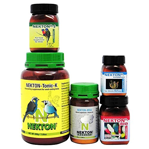 Nekton Medium Bird Vitamin and Supplement Kit by Nekton