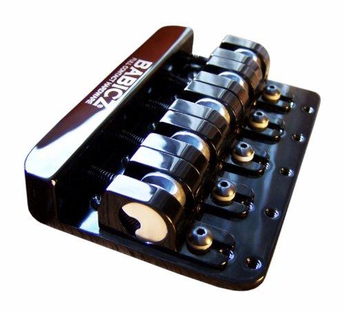 Babicz FCH5BK  Full Contact Hardware, 5-String Bass Bridge, Black