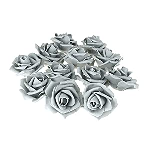 Homeford Foam Roses Flower Head Embellishment, 3-Inch, 12-Count 5