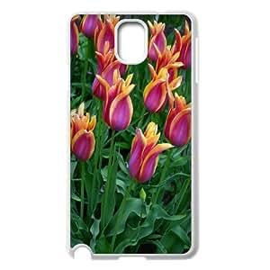 Unique Design -ZE-MIN PHONE CASE- For Samsung Galaxy NOTE3 Case Cover -Beautiful Holland Tulip Flower-CUSTOM-DESIGH 8