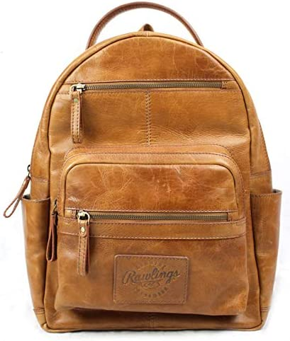 Rawlings Heritage Collection Leather Backpack Tan