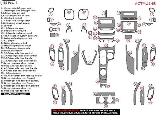 2014 chevy malibu dash trim kit - 5