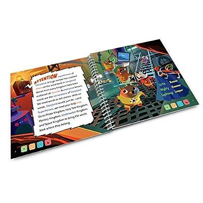 LeapFrog LeapStart 1st Grade Activity Book: Superhero Vocabulary and Communication Skills: Toys & Games