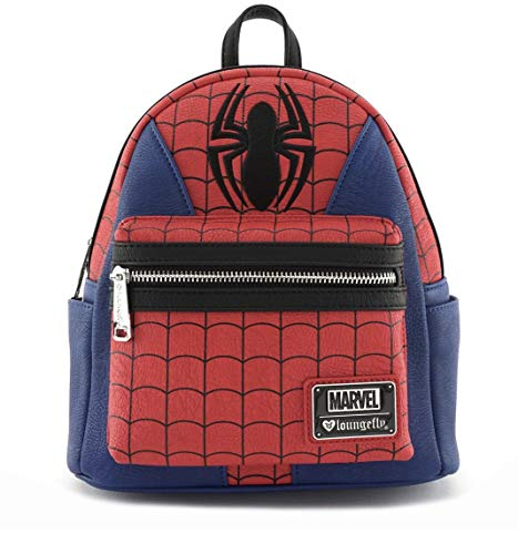 Loungefly: Marvel Spider-Man Faux Leather Mini Backpack Standard