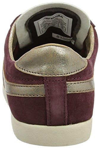 Gola Damen Pourriture Sneaker Miroir Bullet (bourgogne / Or)