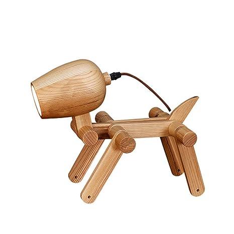 Simple lámpara de mesa de perrito Nordic IKEA estudio lámpara ...