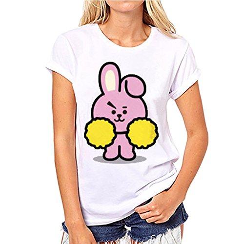 Discovery BTS Shirt Kpop T Femme raaqwAX