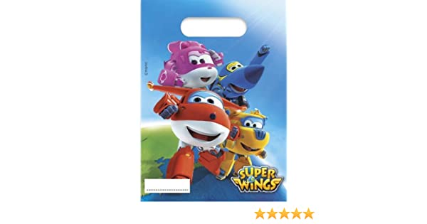 Super Wings Party Bags