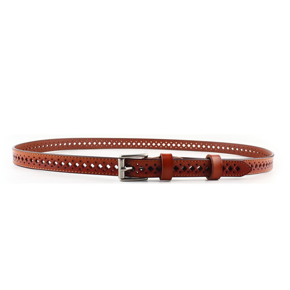 Nanxson(TM) Women's/ Girls' Fashion Style Elegant Hollowed Decorative Slim Waist Band/ Belt PDW0080 (brown)