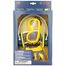 Theo Klein 8237 Bosch Toy Tool Set with Gloves, Goggles and Ear Muffs