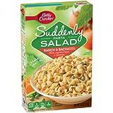Betty Crocker Suddenly Salad Pasta Kit Ranch & Bacon (Pack of 24)