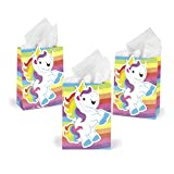 Rainbow Unicorn Gift Party Favor Bags (1 Dz)