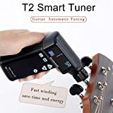 BATESMUSIC T2 smart Tuner Automatic Guitar tuning Strings Tuner Smart Peg String