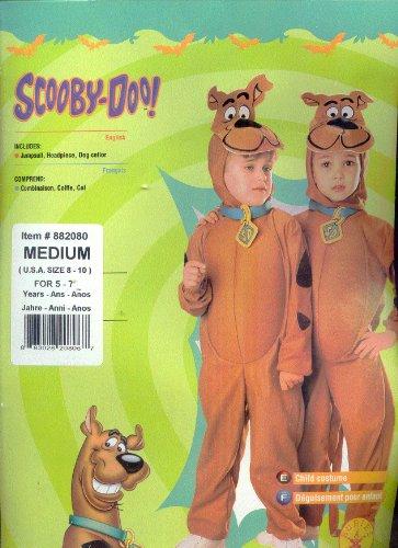 Scooby-Doo Costume - Medium (Scooby Doo Kids Costume)