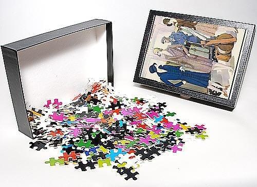 Photo Jigsaw Puzzle Of Ladies Luggage On Train