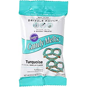 Wilton Candy Drizzles Pouch, Turquoise